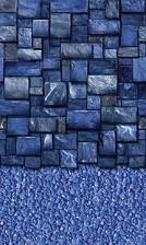 Blue Slate Stream Stone