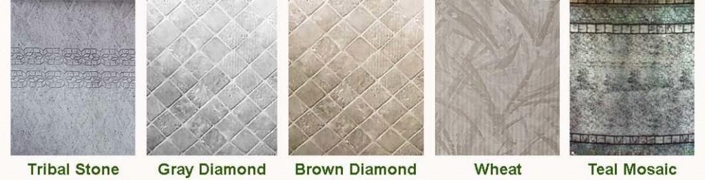 MGK Pools Steel Wall Patterns