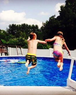 Above Ground Pool Fun