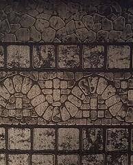 Gray Mosaic Aluminum Wall