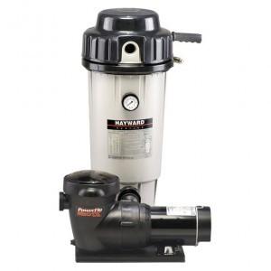 Hayward EC50 DE Filter System w accessories