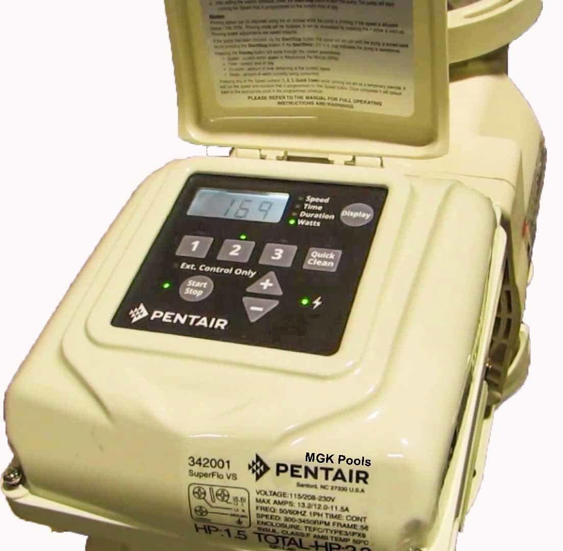 Programming 342001 Pump