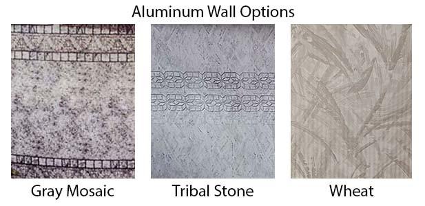 18x52 aluminum pool wall options
