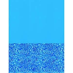 Blue Wall / Swirl Bottom