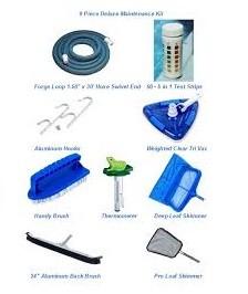 Pool Maintenance Package 9-Piece