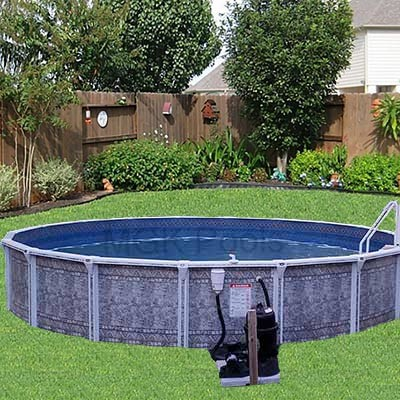 Above Ground Pool - Round Dauntless