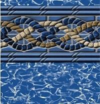 Mystri-Gold Pool Liner Print