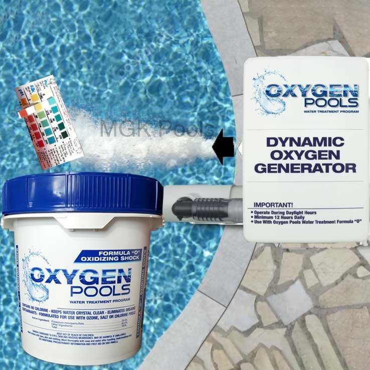 Oxygen Pools sanitation Kit Large